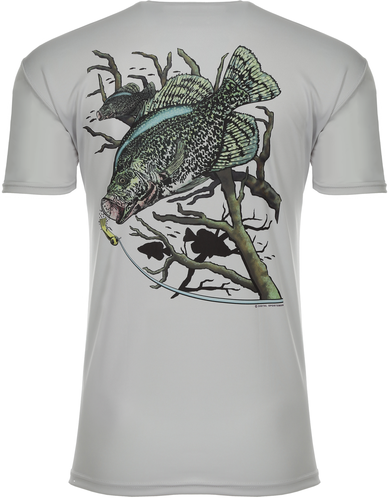 Crappie Attack Short Sleeve Fishing T-Shirt